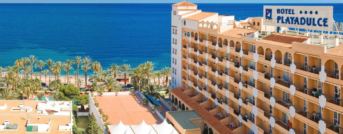 Playadulce hotel 4 aguadulce almer a web oficial for Hoteles en vera almeria