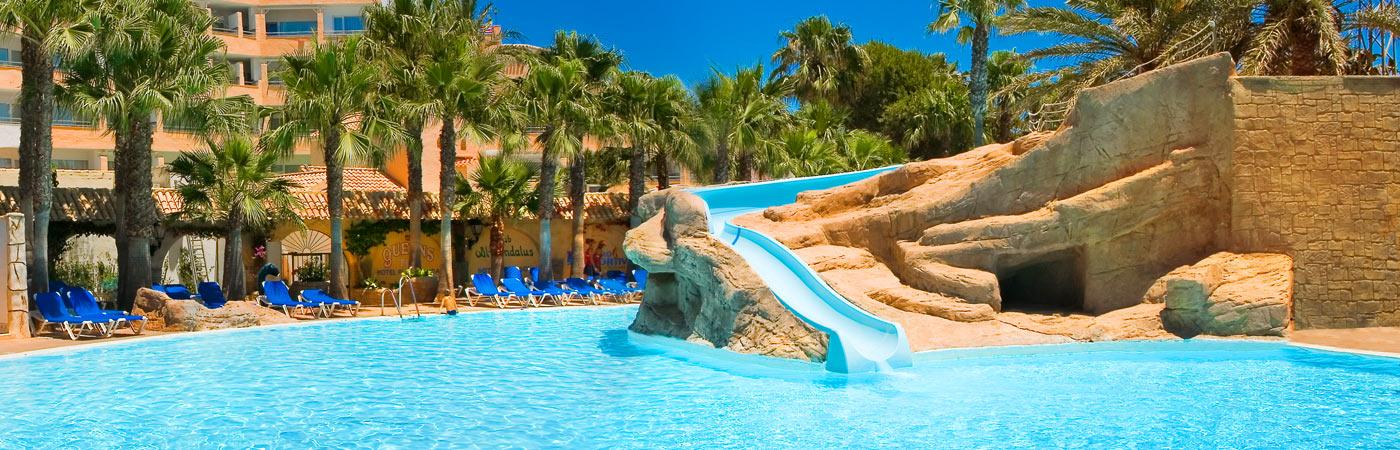 Playasol spa hotel 4 roquetas de mar almer a web oficial for Hoteles playa con habitaciones familiares